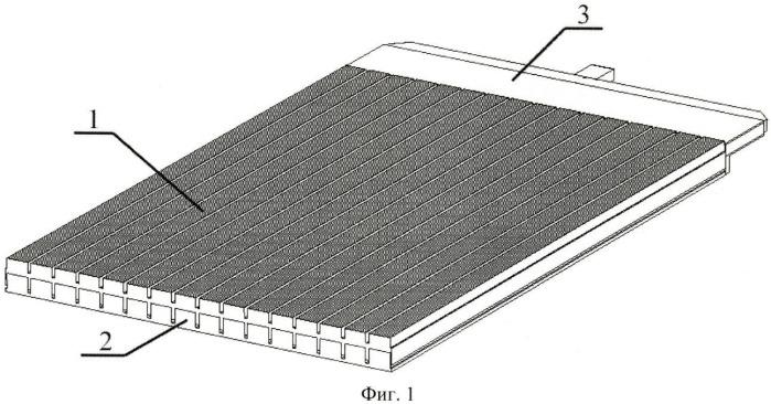 Плоская решетка антенн дифракционного излучения и делитель мощности, используемый в ней