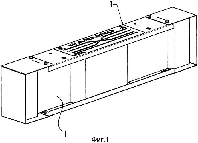 Устройство транспозиции для предварительно изготовленной системы электрических каналов