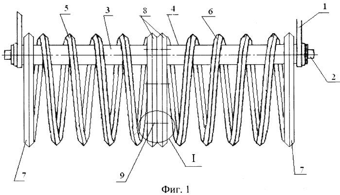 Шлейф-каток спиральный