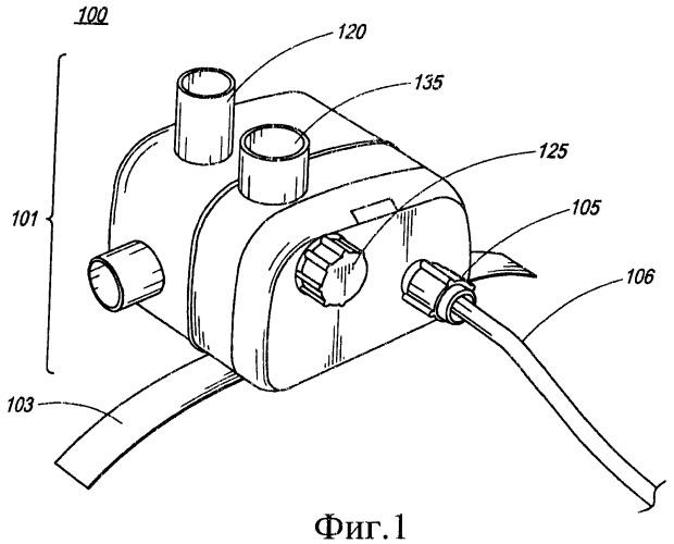 Аппарат искусственной вентиляции легких с быстрой ответной реакцией на состояние респираторного заболевания