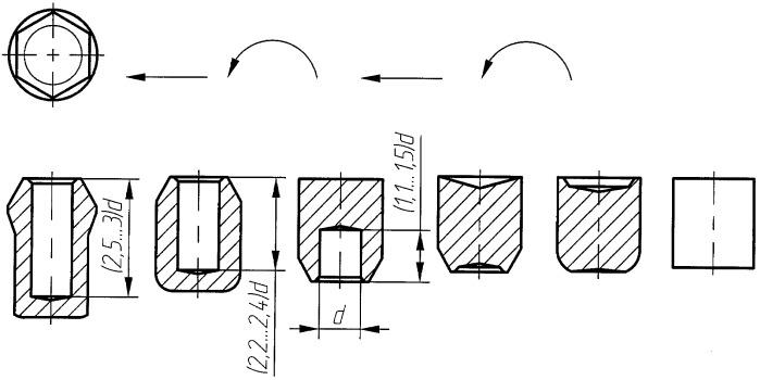 Способ изготовления колесной гайки