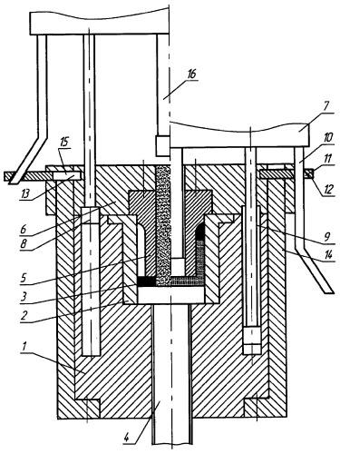 Пресс-форма для прессования стаканообразных изделий