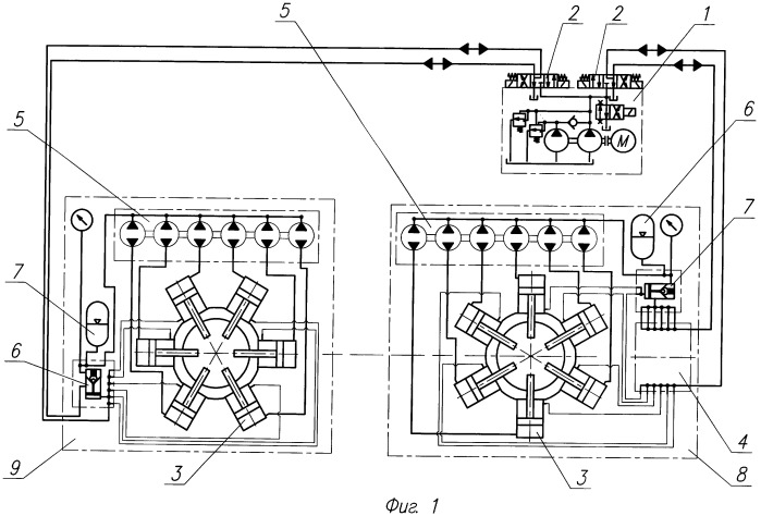 Способ управления зажимными гидроцилиндрами и стенд для свинчивания и развинчивания резьбовых соединений гидравлических забойных двигателей
