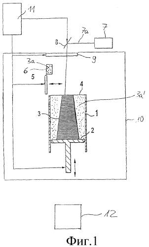 Способ и устройство для послойного получения трехмерного объекта из порошкообразного материала