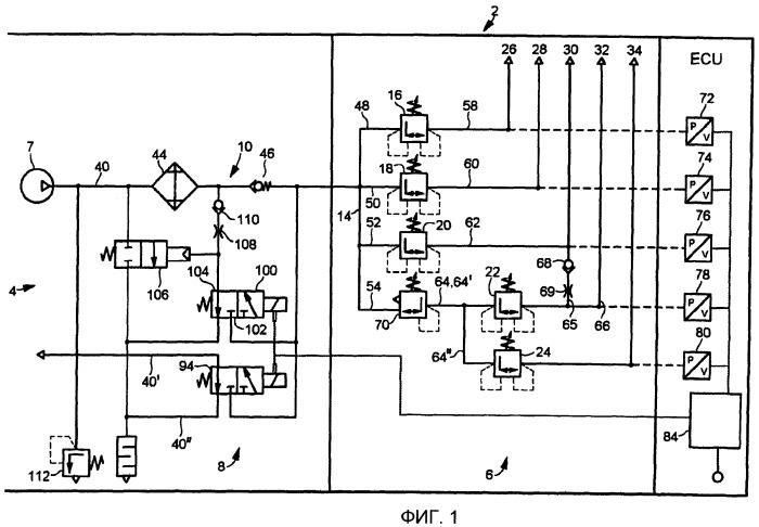 Система снабжения сжатым воздухом и способ определения параметров системы