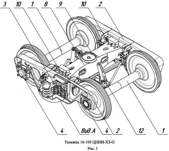 Способ снижения износа системы колесо-рельс и конструкция для его осуществления
