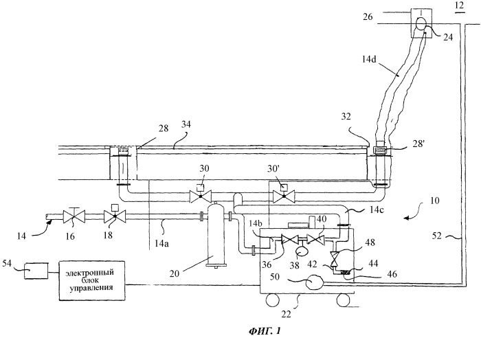 Способ создания избыточного давления и измерения объема утечек в конструкции кабины воздушного судна и устройство для осуществления этого способа