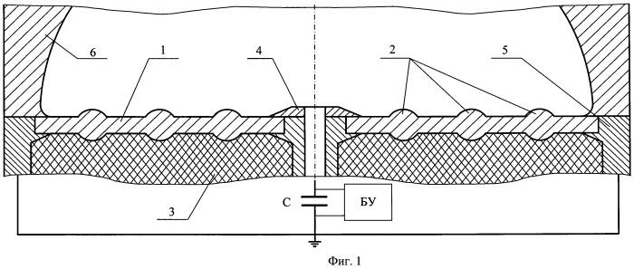 Устройство для нанесения покрытий электрическим взрывом фольги