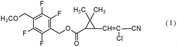 Сложноэфирное соединение циклопропанкарбоновой кислоты и его применение для борьбы с вредителями