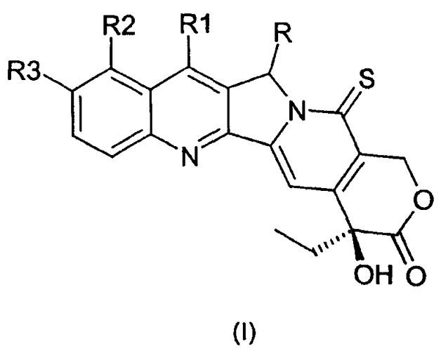 Производные камптотецина с противоопухолевой активностью