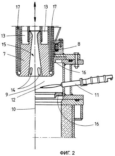 Циркуляционный вакуумный дегазатор с запальной горелкой