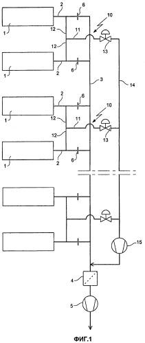 Способ удаления газов и устройство для его осуществления