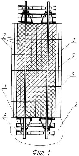 Рельсовый переезд из резиновых панелей