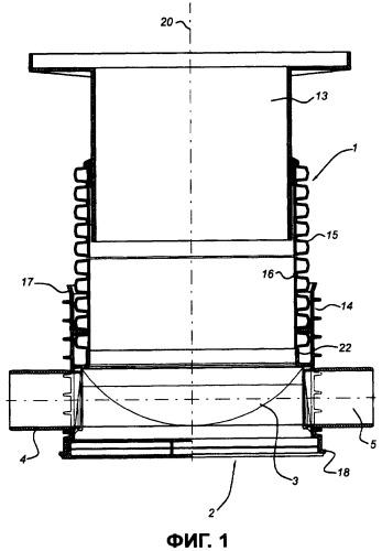 Смотровой колодец и способ изготовления смотрового колодца с сегментами основания