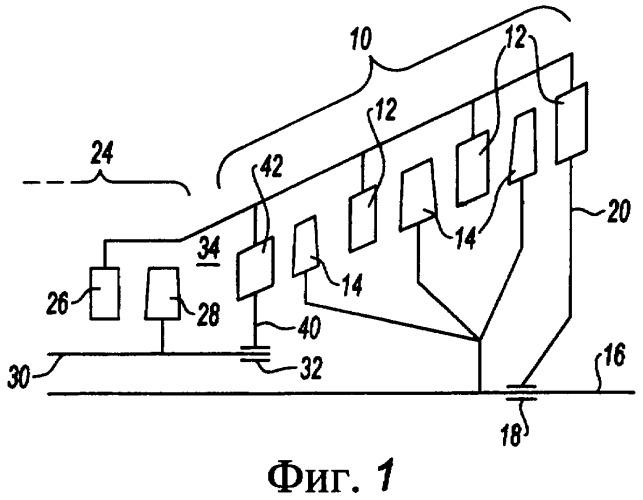 Межтурбинный картер с контуром охлаждения и содержащий его турбореактивный двигатель