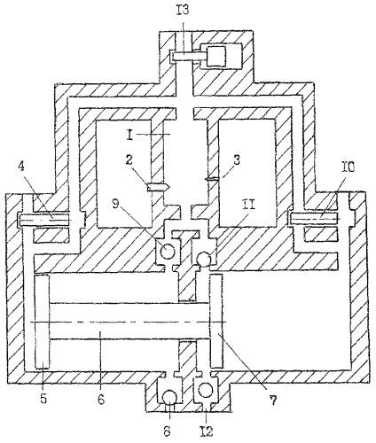 Поршневой двигатель с питанием рабочим телом от свободнопоршневого генератора газов с внешней камерой сгорания