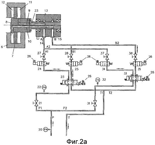 Устройство для гидравлического регулирования лопаток рабочего колеса вентилятора