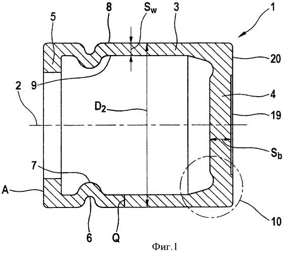 Поршень для тормозной системы с гидравлическим приводом и способ его изготовления