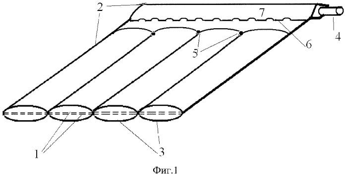 Теплоприемная панель солнечного коллектора