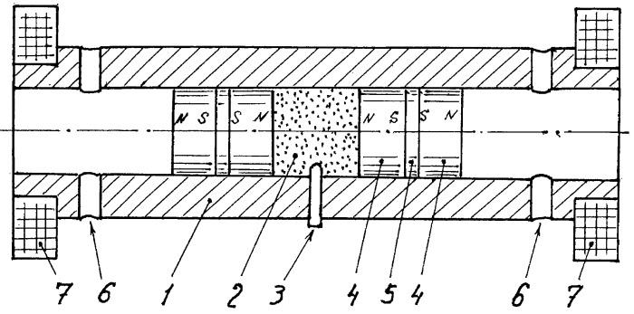 Взрывной магнитный генератор