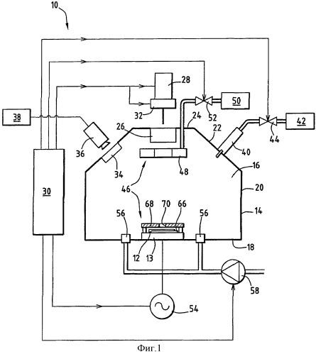 Способ и установка для вскрытия поверхности интегральной схемы