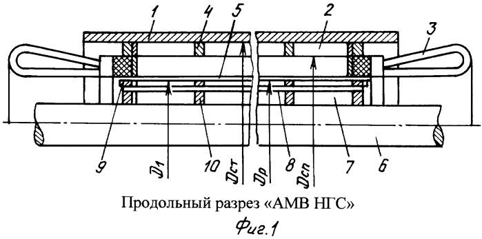 Электрохимическая защита асинхронной машины ветохина для нефтегазовых скважин (амв нгс)