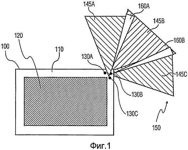 Система окружающего освещения на основе проекторов
