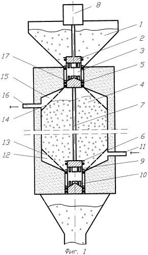 Аппарат для обработки зернистого материала жидкостью
