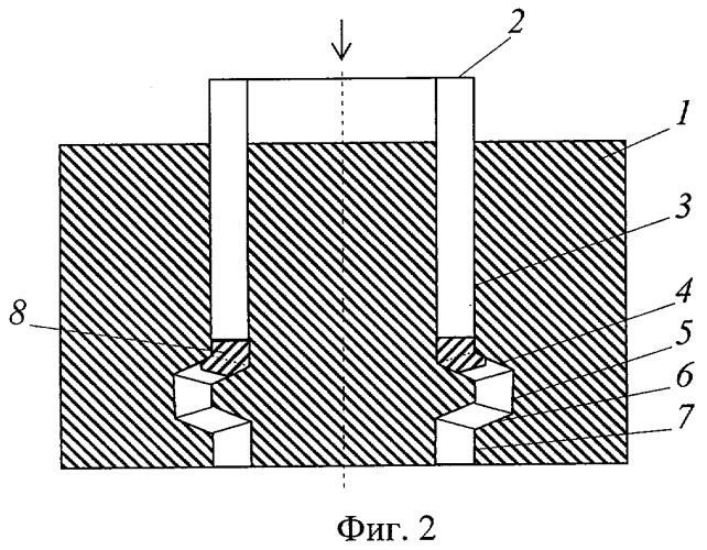 Способ упрочнения кольцевой заготовки канальным угловым прессованием и устройство для его осуществления