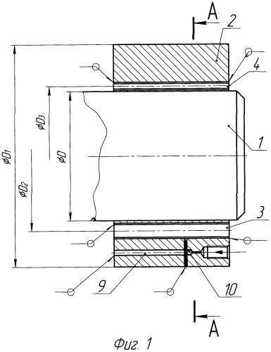 Способ получения соединения деталей типа вал-втулка