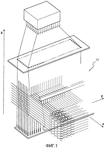 Способ изготовления контрольного образца лопатки из композитных материалов