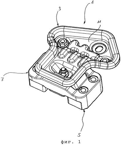 Устройство для упругой подвески узла двигателя и коробки передач
