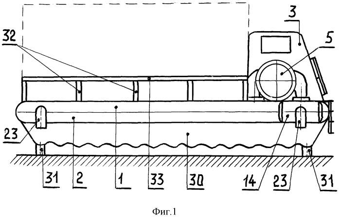 Транспортное средство с динамическим поддержанием корпуса над поверхностью дороги