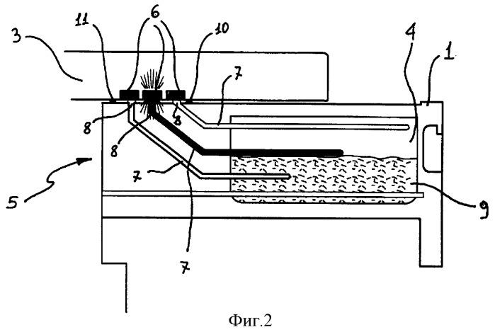 Стиральная машина с визуальным индикатором уровня моющего средства
