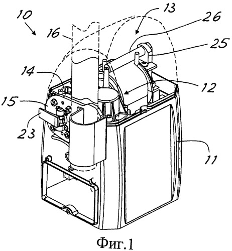Шлагбаум с устройством компенсации веса бруса
