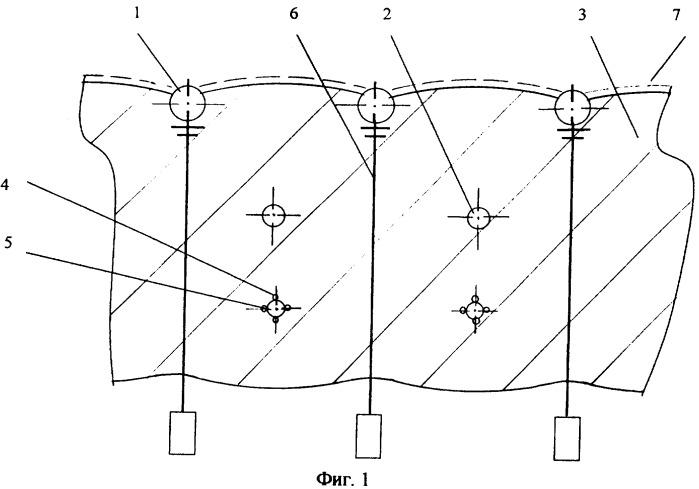 Способ изготовления технологической стены котлована