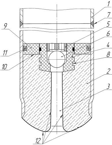 Разбуриваемый башмак-клапан для установки расширяемой колонны в скважине