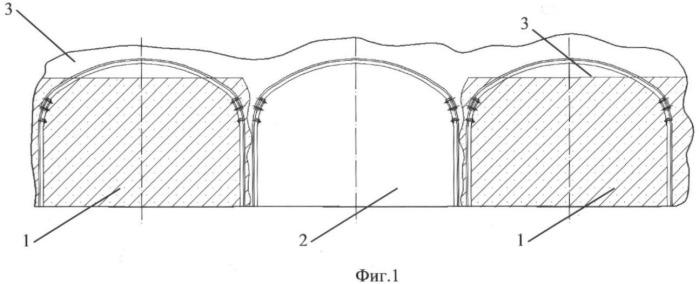 Способ опережающего крепления кровли при выемке целика между выработками, заложенными бетоном