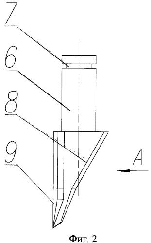 Скалывающий козырек секции механизированной крепи