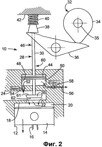 Двигатель с разделенным циклом
