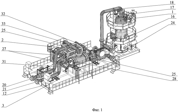 Комплекс блоков низкотемпературной сепарации газовых или газожидкостных смесей