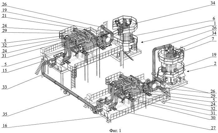 Способ обустройства установки комплексной подготовки газа на газовом промысле нефтегазоконденсатного месторождения