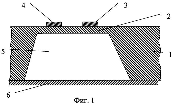 Термоанемометр и способ его изготовления