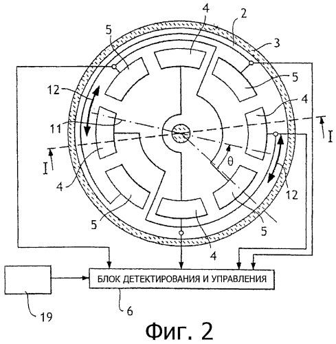 Способ корректировки коэффициента усиления емкостного элемента и устройство для его осуществления