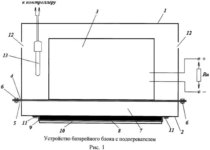Способ обеспечения работоспособности литий-ионных аккумуляторов и батарей на их основе при отрицательных температурах