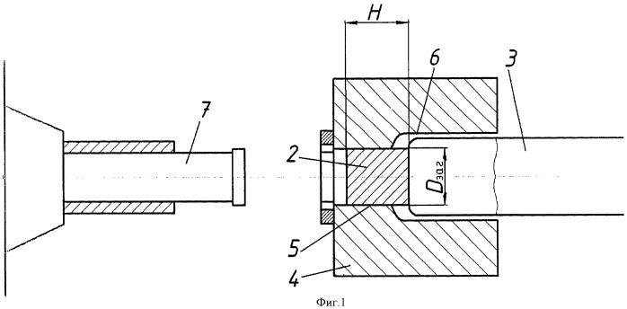 Способ объемного выдавливания деталей типа стакана концентричным угловым прессованием на горизонтальном экструзионном гидравлическом прессе
