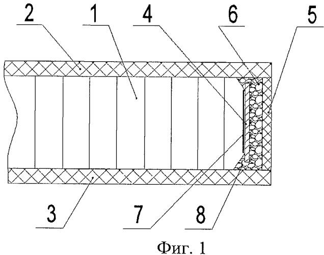 Окантовочный элемент трехслойной панели