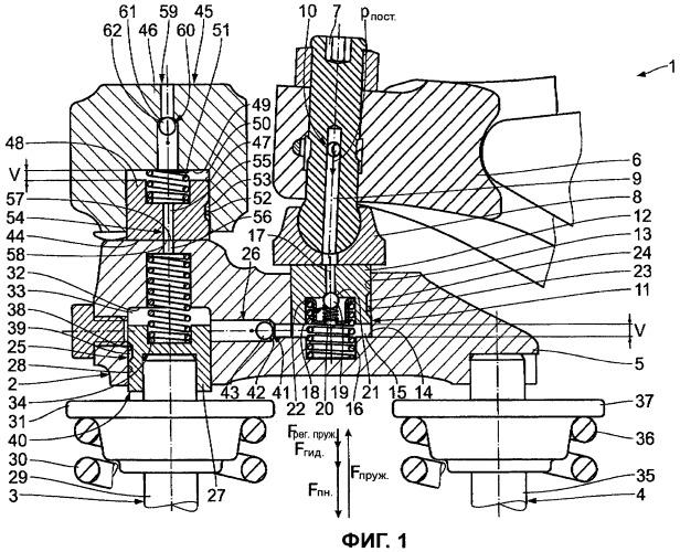 Двигатель внутреннего сгорания, оснащенный устройством моторного тормоза