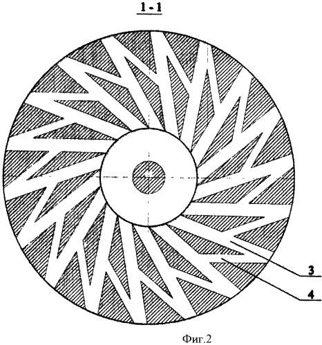 Осерадиальное рабочее колесо тоннельного типа