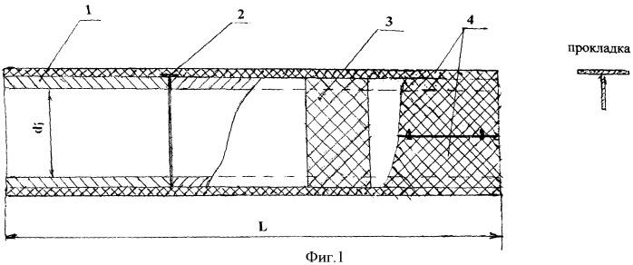 Стеклопластикобетонная агрессивостойкая труба и способ ее изготовления